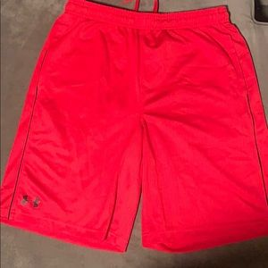 Red Under Armour Shorts